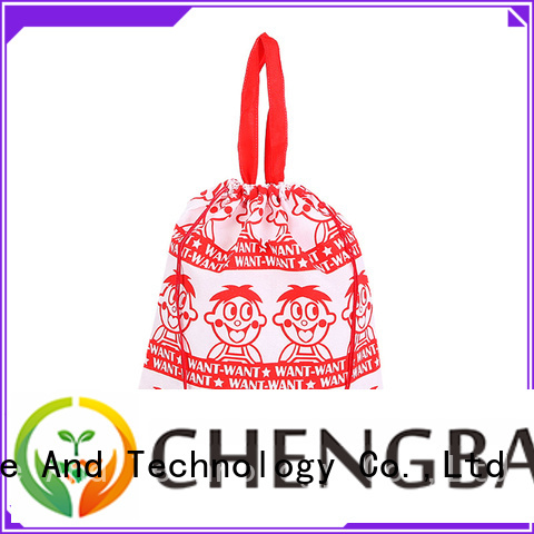 Chengbai customized 600d polyester bag personalized for shopping