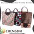 Wholesale good quality foldable shopping bag with good printing tote bag