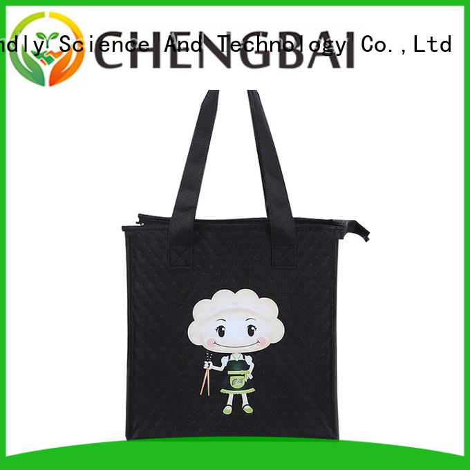 custom logo print food cooler bag bag fast delivery for daily necessities