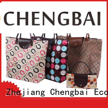 Chengbai shopping non woven t-shirt bag for business for daily necessities
