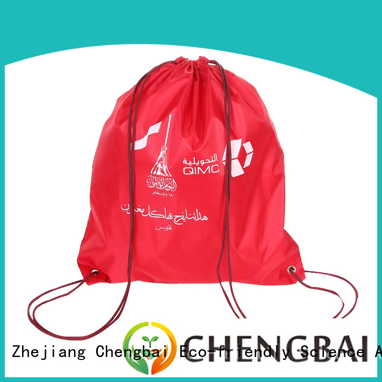 Chengbai polyester polyester tote bags wholesale company for packing