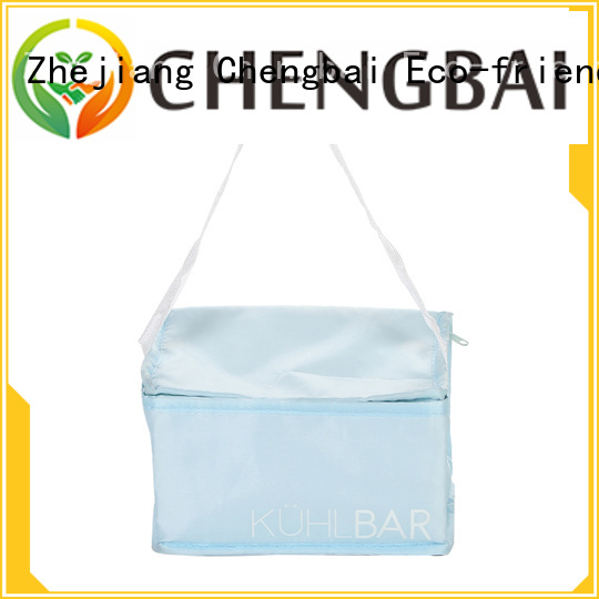 Chengbai logo insulated cooler tote one-stop service supplier for daily necessities