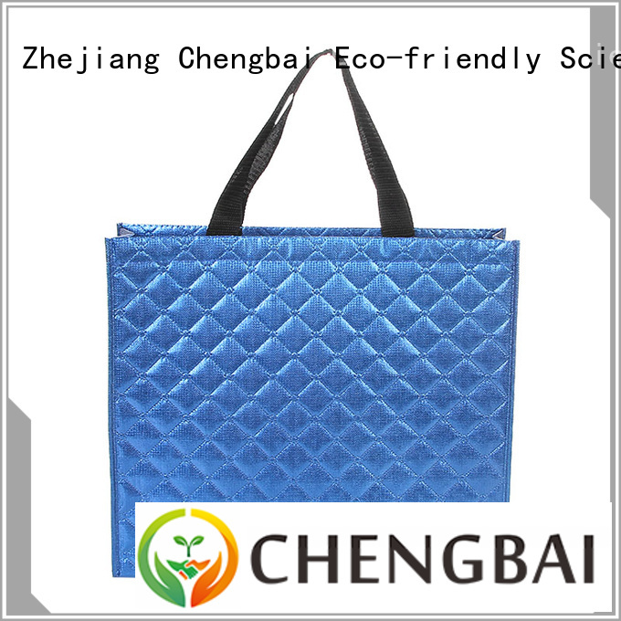 Chengbai waterproof non woven fabric bags price awarded supplier for shopping