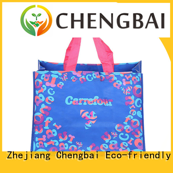Chengbai size PP woven shopping bags great deal for daily necessities