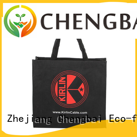 Chengbai hot selling canvas tote shopping bags company for gift