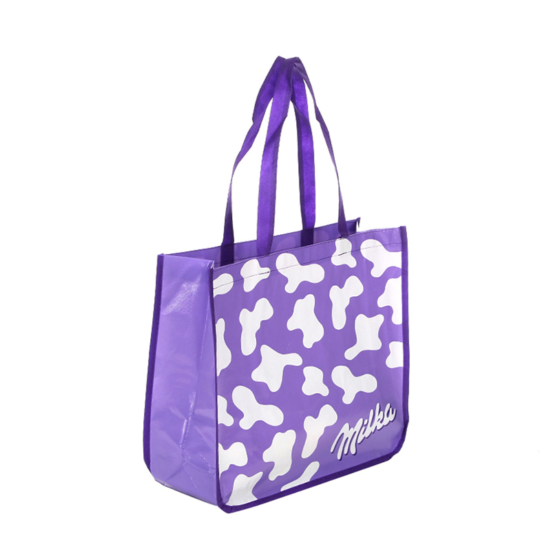 Custom laminated non woven polypropylene bags woven awarded supplier for packing-1