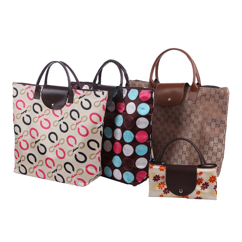 Wholesale good quality foldable shopping bag with good printing tote bag