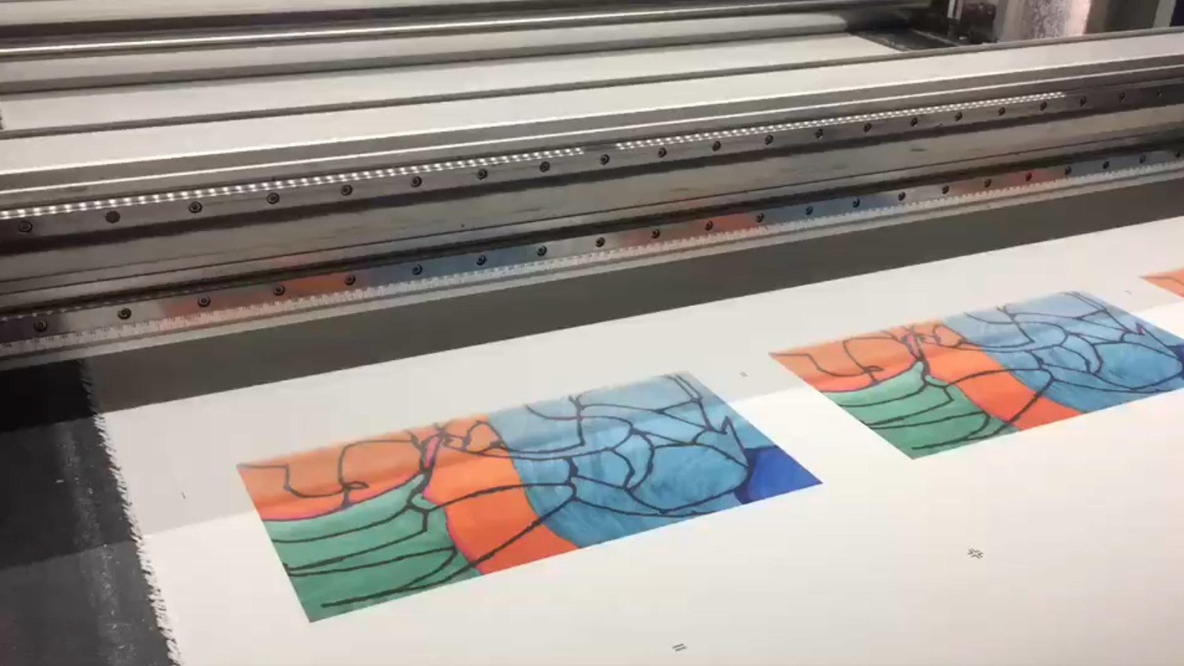 Machine printing