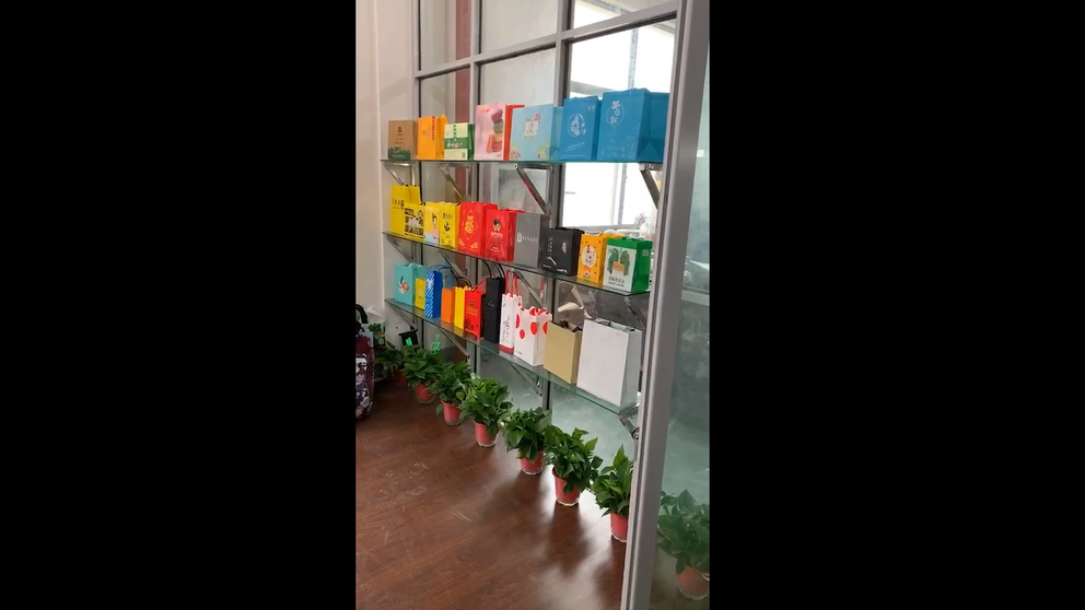 Non Woven Carry Bags Sample room