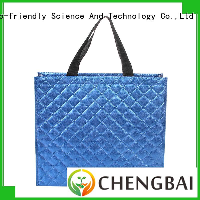 non woven polypropylene tote bag price for advertising Chengbai