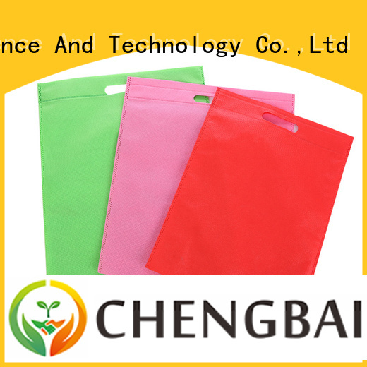 Chengbai portable wholesale woven bags factory for advertising