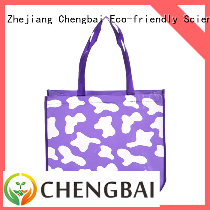 Chengbai Wholesale non woven fabric carry bag factory for packing
