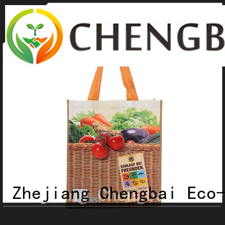 Chengbai Top pp woven tote bag exporter for daily necessities