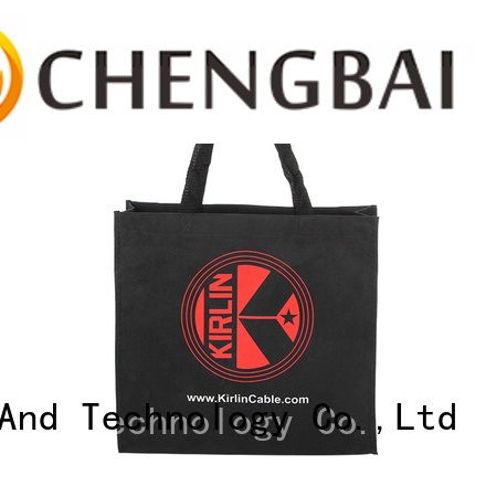 Chengbai bag cotton tote international market for packing
