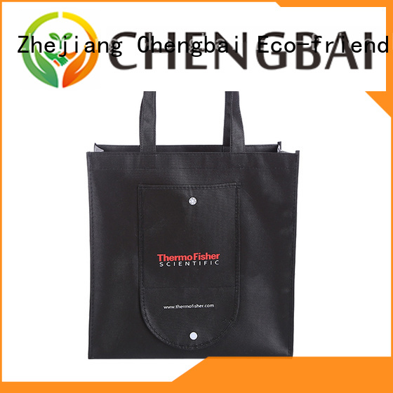 Chengbai laminated woven bag making factory for shopping