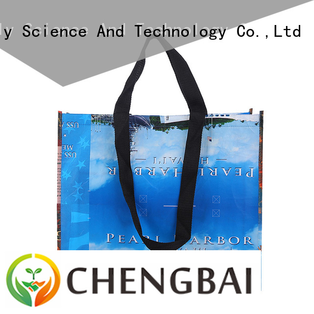 Chengbai printing sublimation non woven bag request for quote for shopping