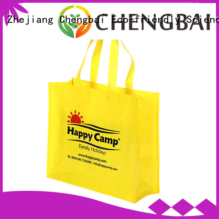 Chengbai tote pp woven sack bags for business for packing