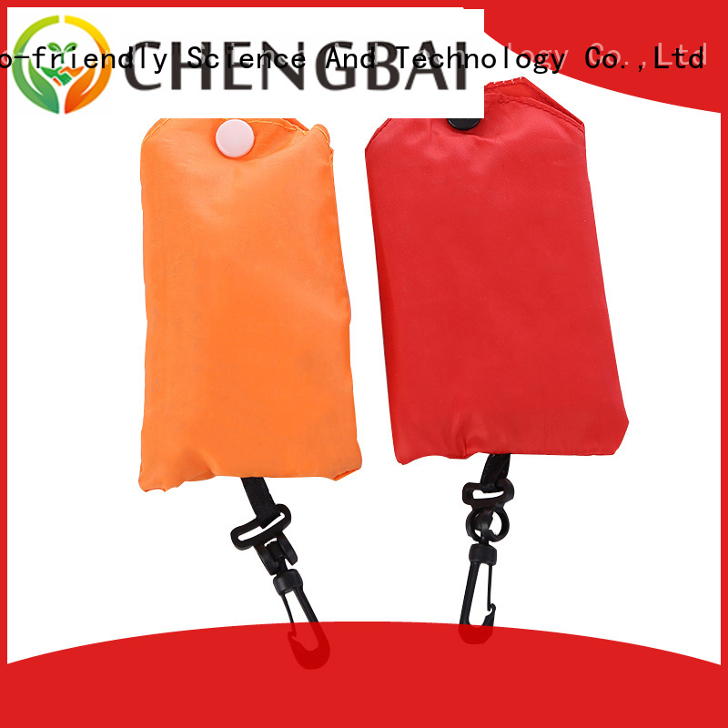 Chengbai advertising trendy reusable shopping bags competitive price for daily necessities