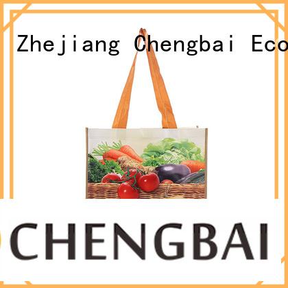 Chengbai reusable pp woven sack bags exporter for packing
