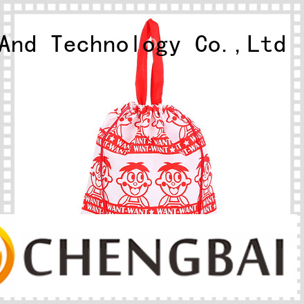 Chengbai different polyester tote factory for daily necessities