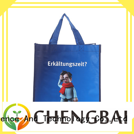 Chengbai New non woven fabric bag raw material awarded supplier for promotion