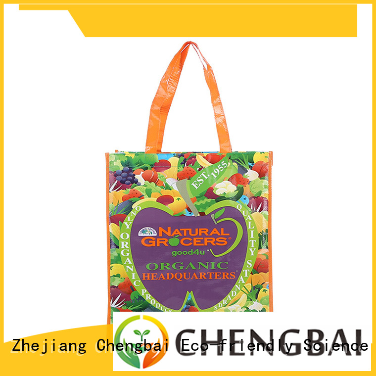 Chengbai New pp woven shopping bag great deal for packing