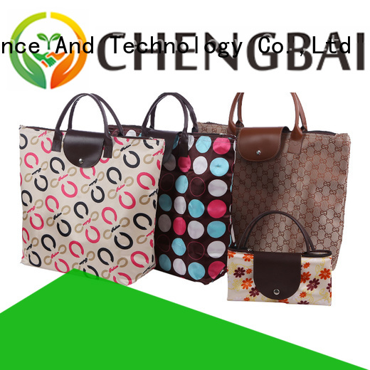 Chengbai Wholesale custom shopping bags trendy designs for packing