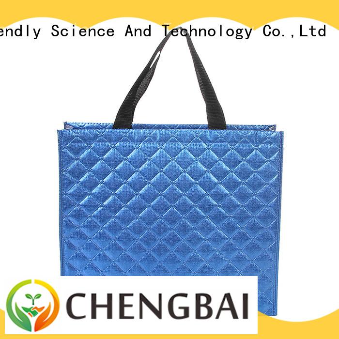 Chengbai design woven paper bag bulk purchase for advertising