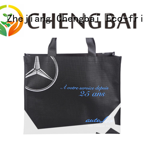 Chengbai packing pp woven bags factory for shopping