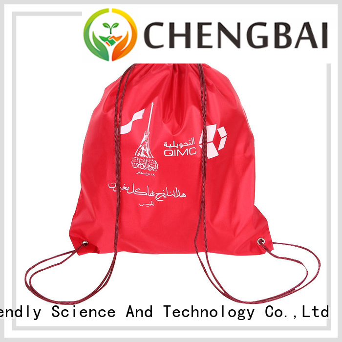 Chengbai Latest polyester shopping bags design for daily necessities