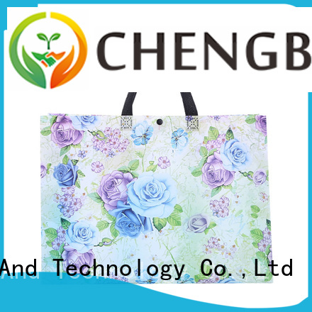 Custom metallic non woven bags heat wholesale for advertising
