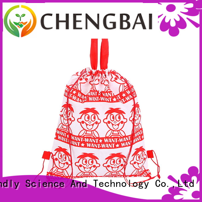 Hot sale new design customized logo good print polyester bag