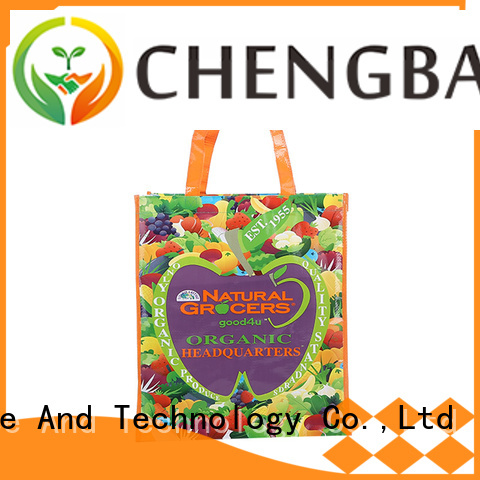 eco-friendly pp woven laminated bag advertising order now for daily necessities