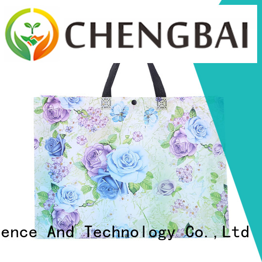 customized non woven ultrasonic bag recycled bulk purchase for packing