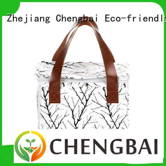 Chengbai low moq personalized cooler bag get quotes for packing