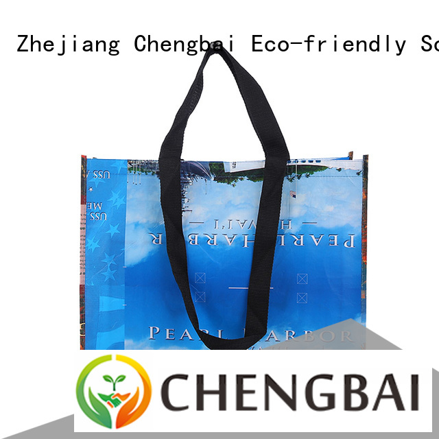 Chengbai raw woven carry bags wholesale for advertising