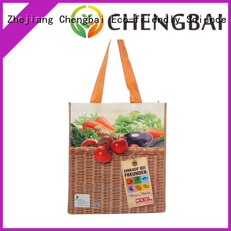 Chengbai fashion pp woven sack bags exporter for daily necessities