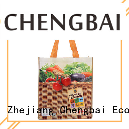 Chengbai fashion pp woven bag factory for daily necessities