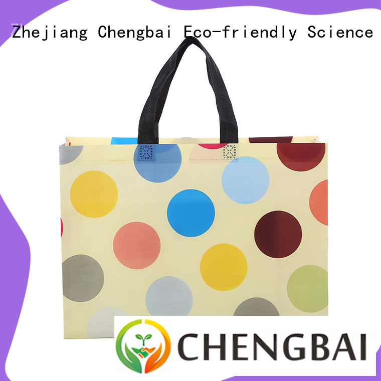 Chengbai seal woven designer bag request for quote for packing