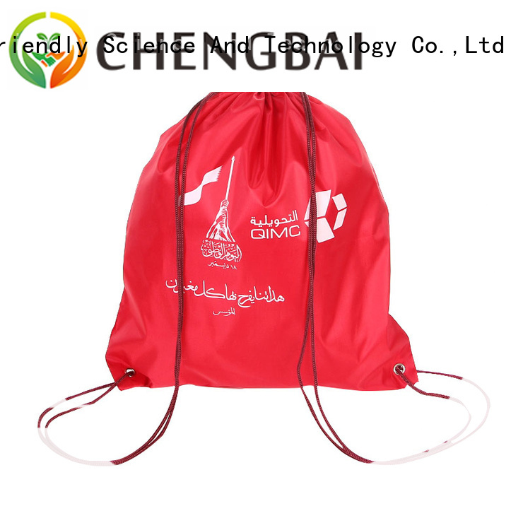 custom polyester reusable bags price company for advertising