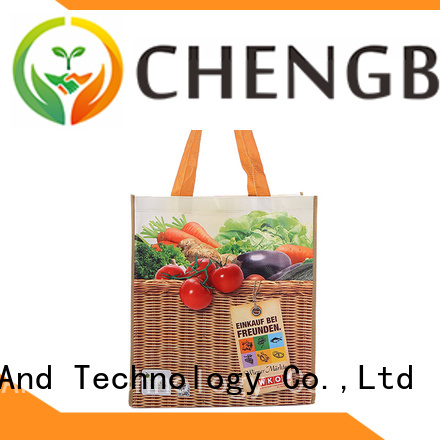 Chengbai New pp woven bags recycling exporter for daily necessities