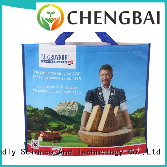 Chengbai print collapsible cooler bag one-stop service supplier for packing