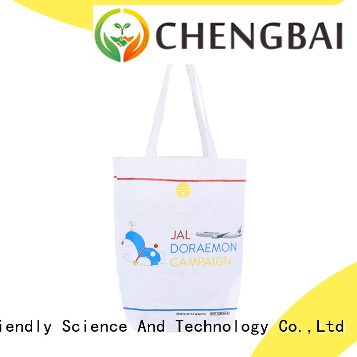 Wholesale White Cotton Custom Printed Canvas Bag Shopping Bag promotional tote bags