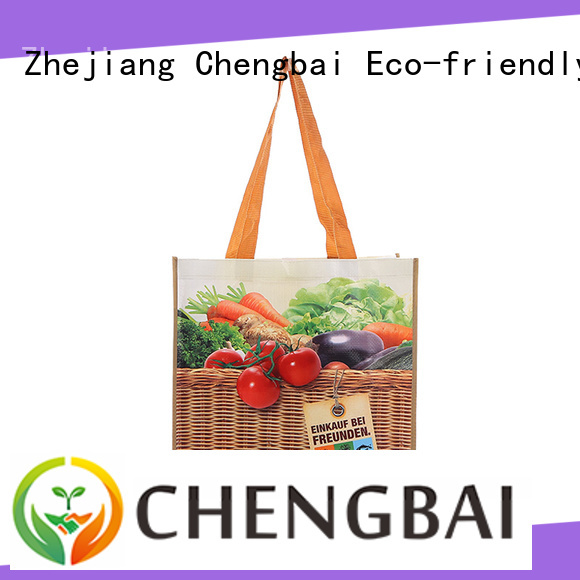 Chengbai Wholesale pp woven tote bag for business for packing