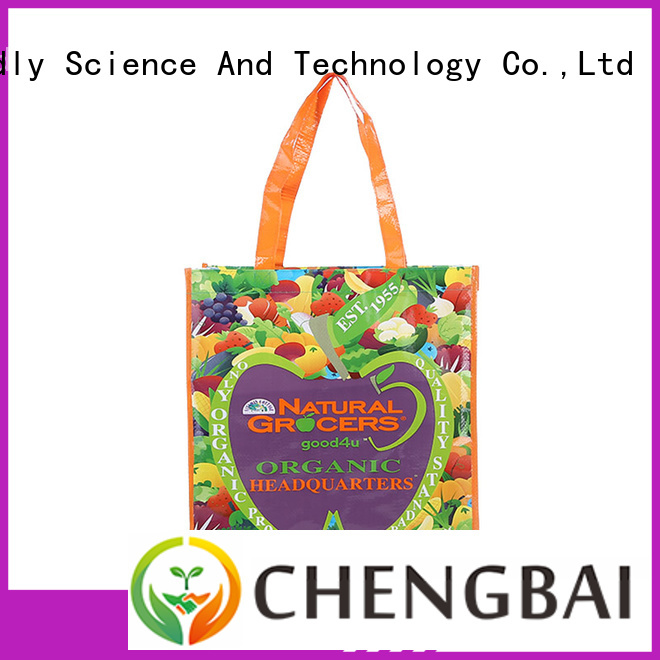 Chengbai portable pp woven bags great deal for daily necessities