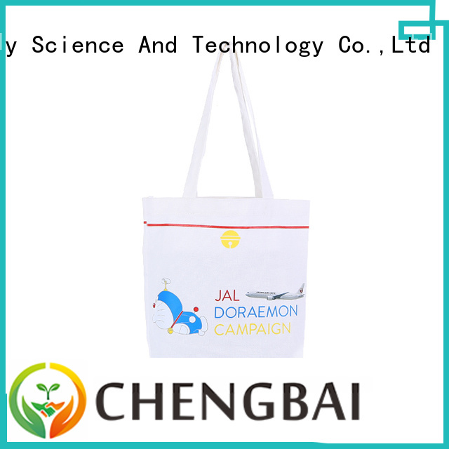Chengbai bag canvas shopping bags manufacturers for daily necessities