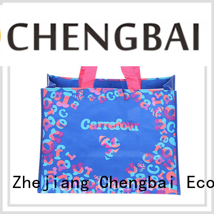 Chengbai fashion pp woven shopping bag Suppliers for packing