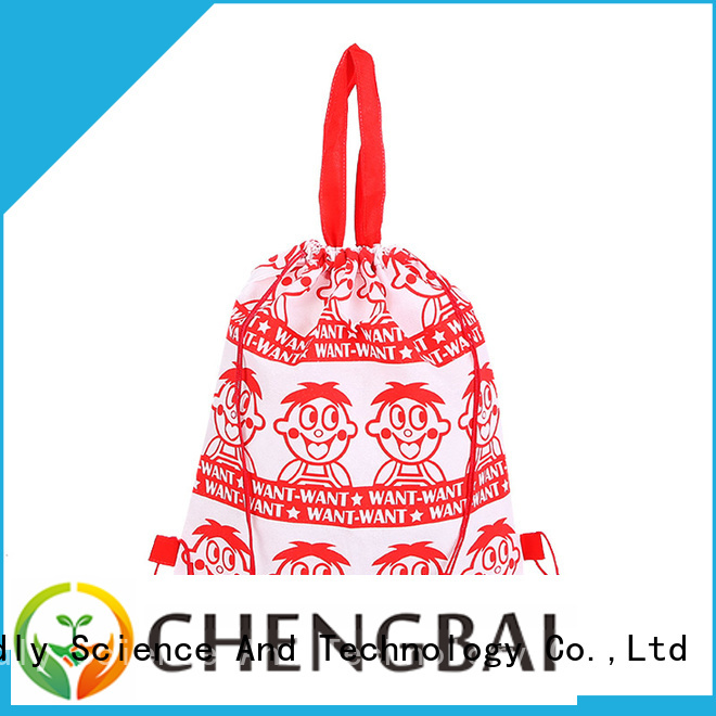 Chengbai Zhejiang polyester tote bags sublimation design for shopping