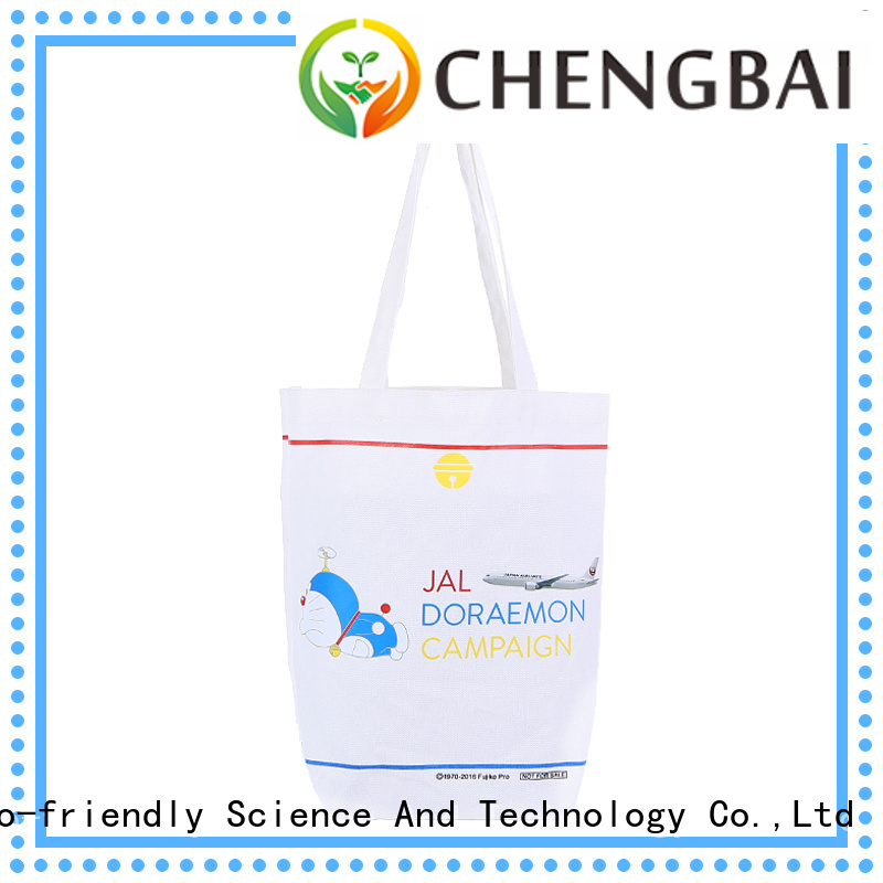 Chengbai ecofriendly cotton gift bags company for packing