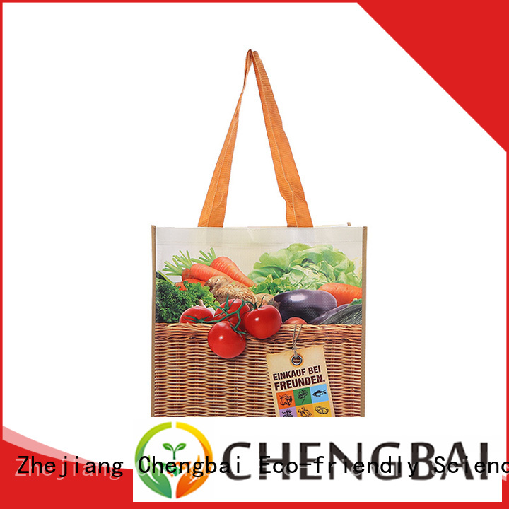 Chengbai handle pp woven tote bag Supply for packing